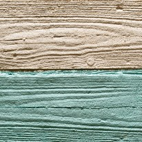 Rustic pigmented top coat – 'pressed timber'