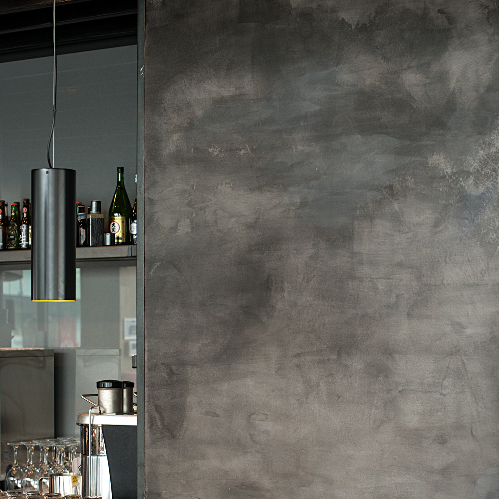 166 Clayworks Wagamama Polished Cement Stylish Concrete Effect Artistic Modern Clay Plaster Wall Finish Clayworks