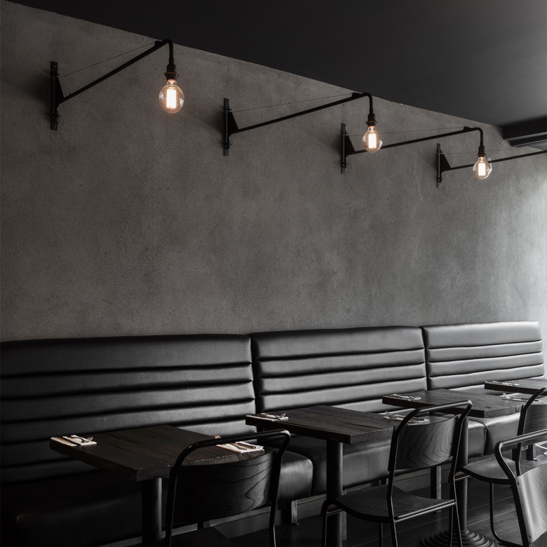 Wood Wall Design Restaurant