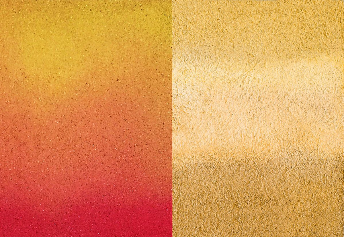 Ombre is more traditionally associated with the gradual shifting of tints and shades from light to dark