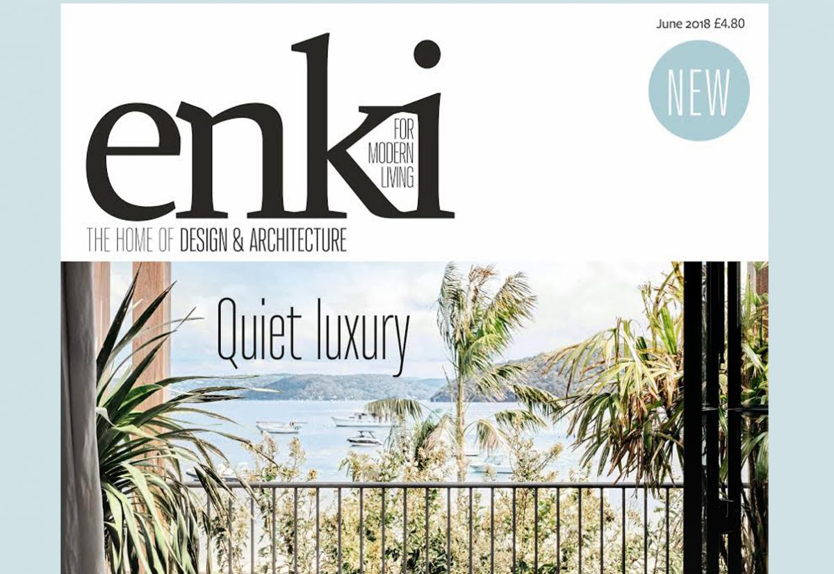 Enki is a new magazine that launched this month