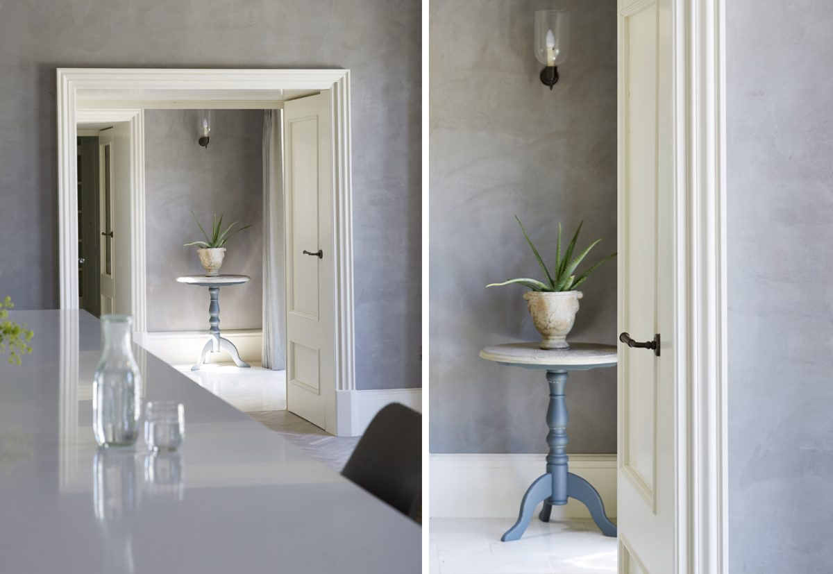 Clayworks clay plasters bring warmth, calmness and texture to renovation project