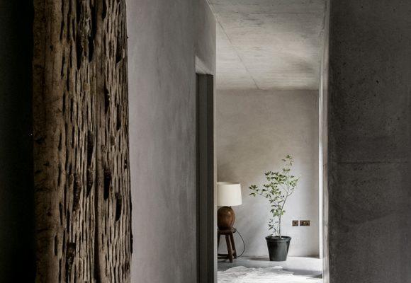 Wabi-Sabi inspired design by Takero Shimazaki Architects and materials from Clayworks