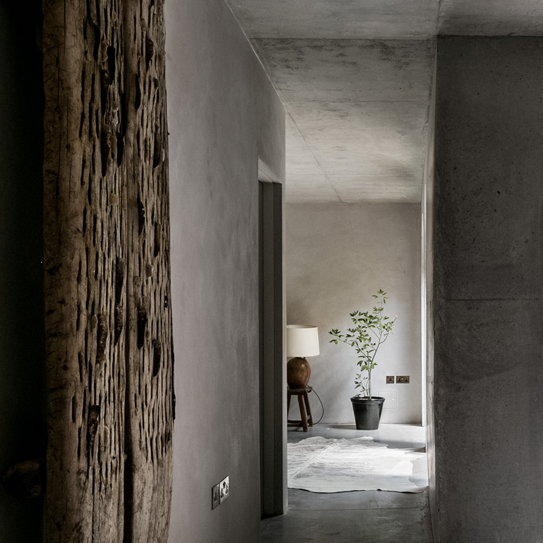 Wabi-Sabi inspired design by Takero Shimazaki Architects and materials from Clayworks