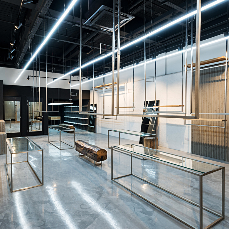 New retail space for Brother2brother by Andthenstudio featuring Clayworks plasters.